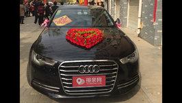 东营奥迪A6L婚车租赁