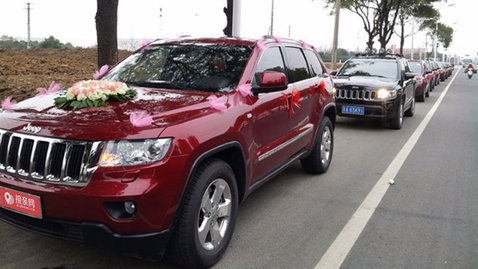婚车套餐Jeep指南者+Jeep指南者