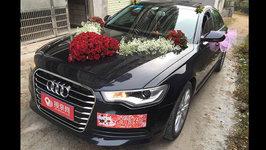 惠州奥迪A6L婚车租赁