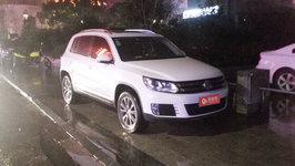 黄山大众Tiguan婚车租赁