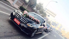 青岛奔驰E级婚车租赁