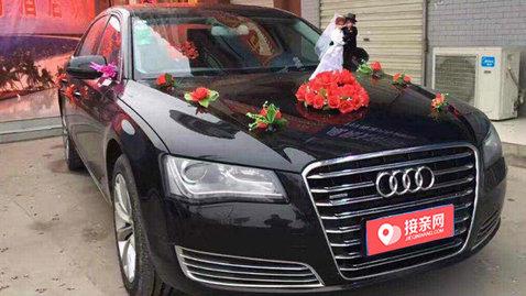 婚车套餐奥迪A8L+奥迪A6L