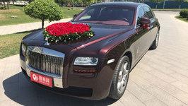 北京劳斯莱斯古思特婚车租赁
