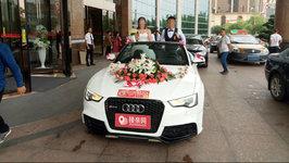 长沙奥迪RS5婚车租赁