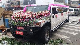 深圳悍马H2婚车租赁