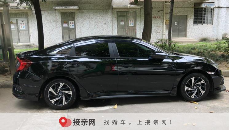 广州本田思域婚车怎么样?最新广州本田思域婚车租赁价格
