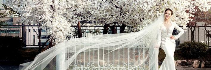 最美新娘造型装扮大全