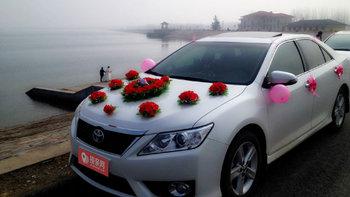 丰田凯美瑞婚车 (白色,可做头车)