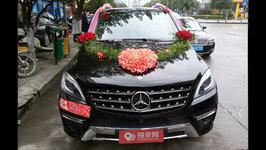 桂林奔驰M级婚车租赁