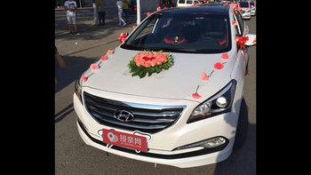 现代名图婚车 (白色,可做头车)