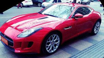 捷豹F-Type婚车 (红色,可做头车)
