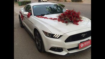 福特野马婚车 (白色,可做头车)