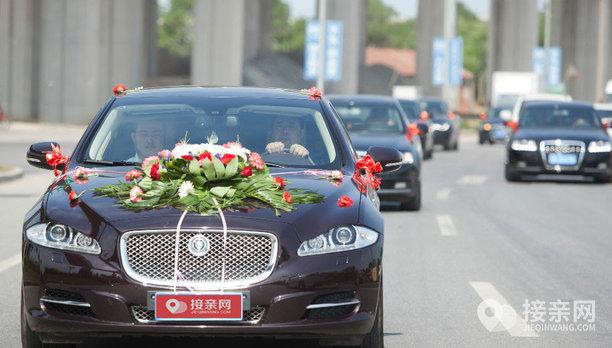 套餐捷豹XJ+10辆奥迪A6L婚车