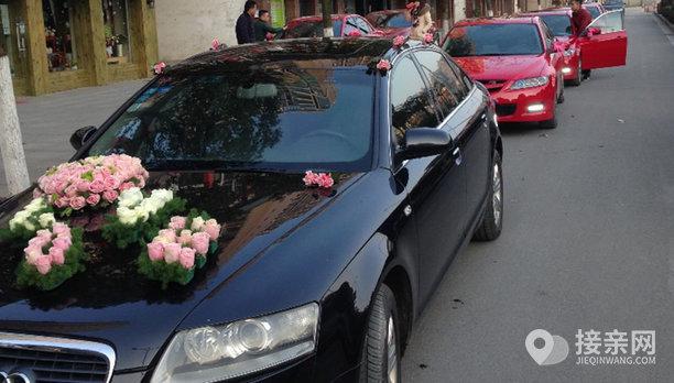 套餐奥迪A6L+30辆马自达6婚车