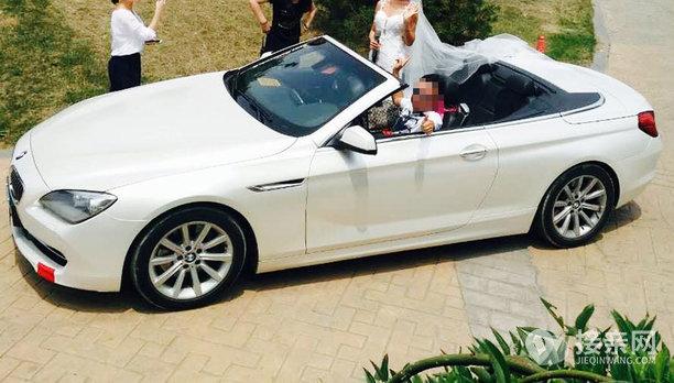 宝马M6婚车