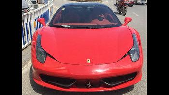 法拉利458婚车 (红色,可做头车)