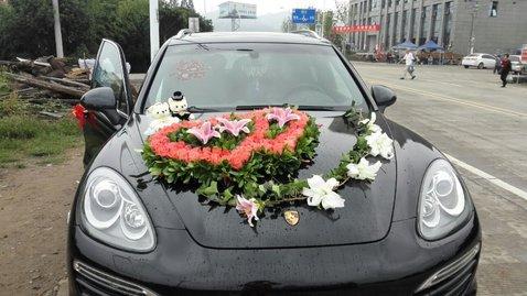 婚车套餐保时捷卡宴+奔驰S级