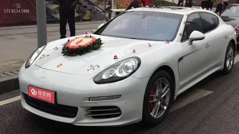婚车套餐保时捷Panamera+雷克萨斯ES