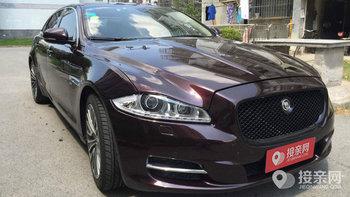 捷豹XJ婚车 (紫色,可做头车)