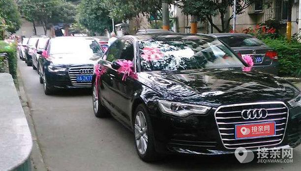 套餐奥迪A6L+5辆宝马3系婚车