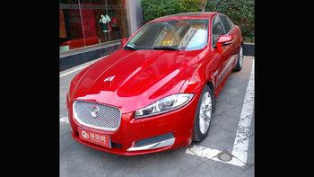 捷豹XF婚车 (红色,可做头车)