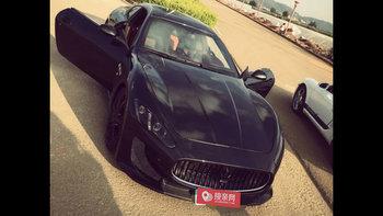 玛莎拉蒂GranTurismo婚车 (黑色,可做头车)