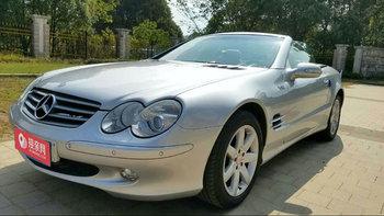 奔驰SL级AMG婚车 (银色,可做头车)