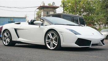 兰博基尼Gallardo婚车 (白色)