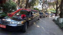 昆明林肯城市婚车租赁