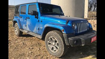 Jeep牧马人婚车 (蓝色,可做头车)