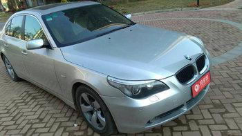 宝马5系婚车 (银色,可做头车)