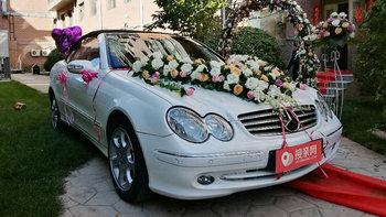 奔驰CLK级婚车 (白色)
