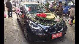 柳州宝马5系婚车租赁