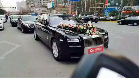 婚车套餐劳斯莱斯古思特+奔驰S级