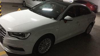 奥迪A3婚车 (白色,可做头车)