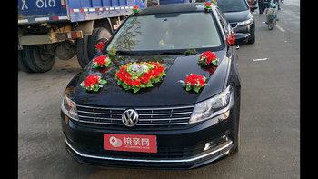 大众朗逸婚车 (黑色,可做头车)