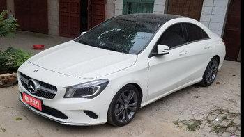 奔驰CLA级婚车 (白色)