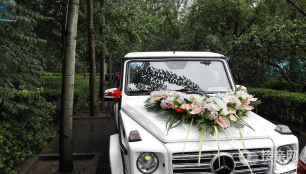 套餐奔驰G级+5辆Jeep牧马人婚车