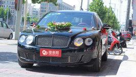 洛阳宾利飞驰婚车租赁