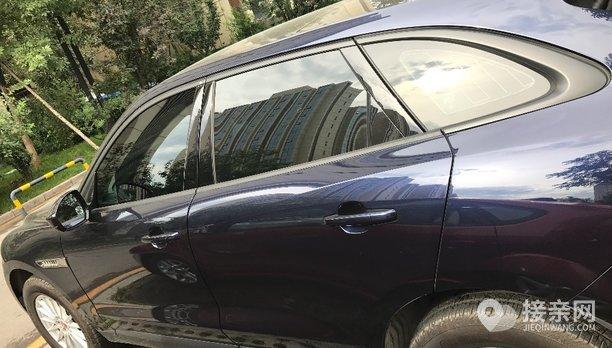 捷豹F-Pace婚车