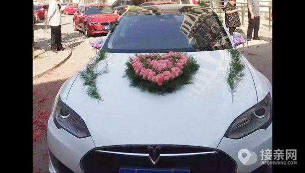 套餐特斯拉MODEL S+7辆宝马3系婚车