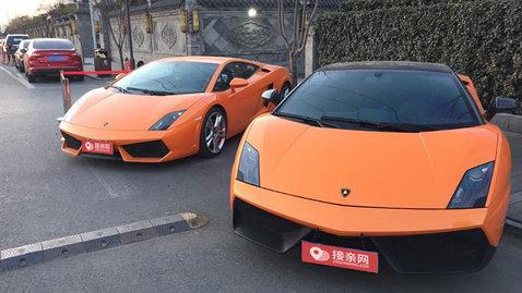 婚车套餐兰博基尼Aventador+劳斯莱斯幻影