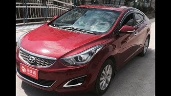 现代朗动婚车 (红色,可做头车)