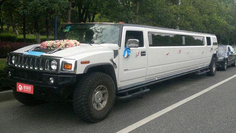 婚车套餐悍马H2+宝马5系