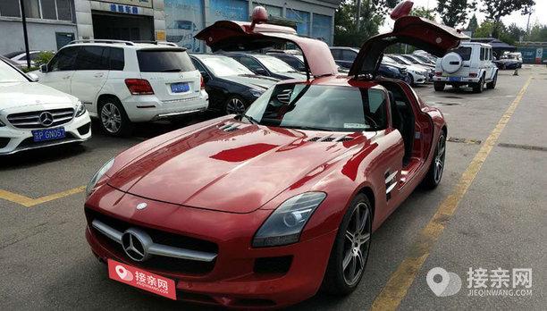 套餐奔驰SLS级AMG+30辆凯迪拉克ATS-L婚车