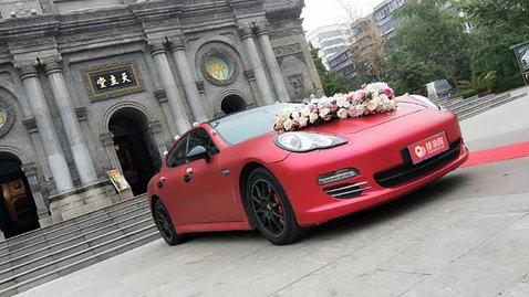 婚车套餐保时捷Panamera+凯迪拉克ATS