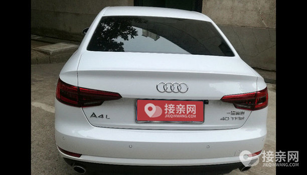 奥迪A4L婚车