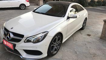 奔驰E级双门轿跑婚车 (白色,可做头车)