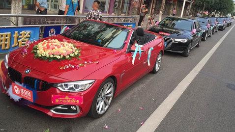 婚车套餐宝马M4+奥迪A6L