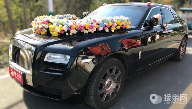 套餐劳斯莱斯古思特+10辆奥迪A6L婚车